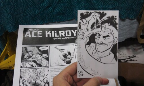 NYCC Commission: Ace Kilroy. Commissioned by the creator.
