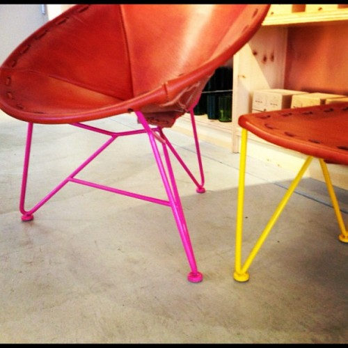 New Jamey Garza colors @ Heath SF #heathceramics, #marfa (Taken with Instagram at Heath Ceramics)