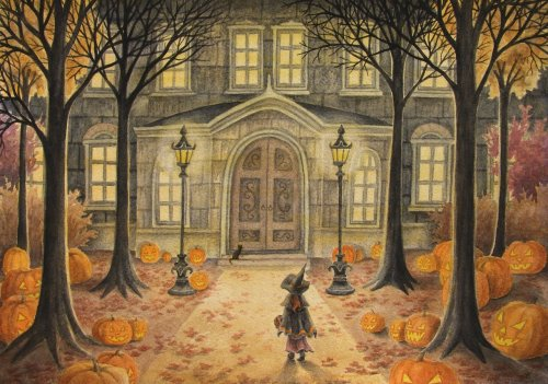 bonfiresofautumn:  All Hallows' Eve by *Lhox