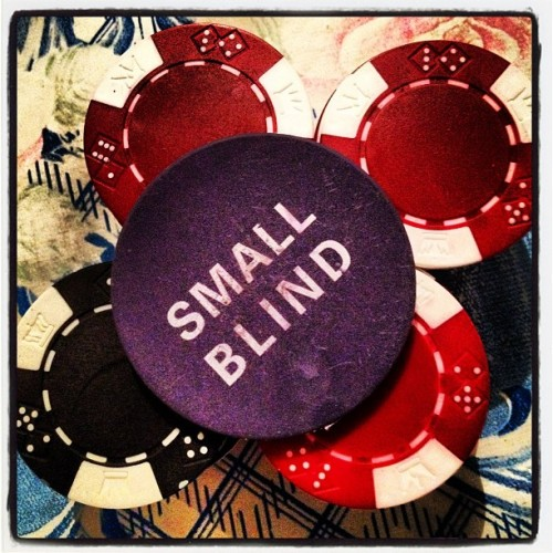 Poker time #poker #smallblind #stake #chips (Taken with Instagram)