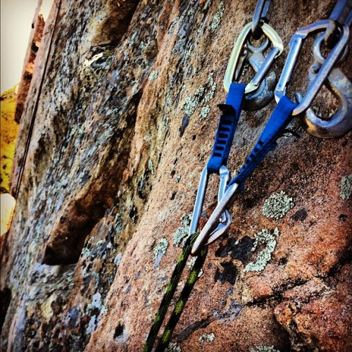 Anchors #climbing #theslabs #eddyizm #gear #iphone  (Taken with Instagram)