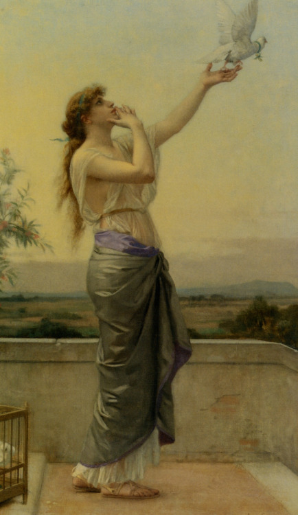 Art enslaves Me: Alexandre Cabanel, Love Messenger