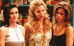 alyssaemilie:  monica, phoebe, and rachel.