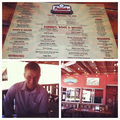 Post-Presbyterian Church lunch at Irma's!  (Taken with Instagram)