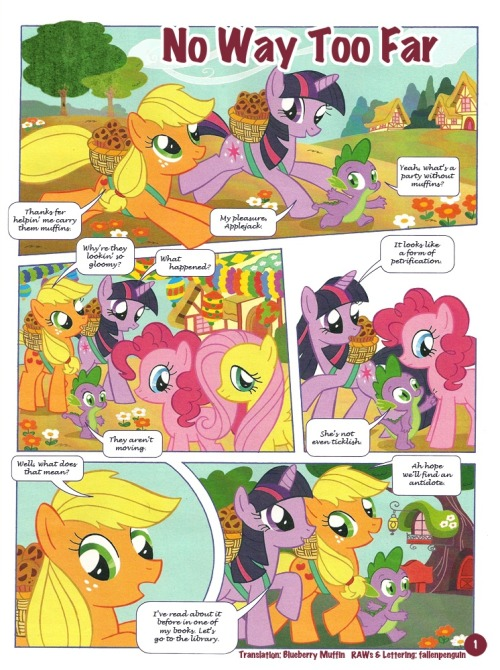 ((Comic submitted by Dutch pony fan))