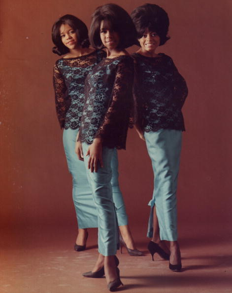 "vintageblackglamour:  The Supremes, Florence Ballard, Mary Wilson and Diana Ross in 1964. Mary Wilson's personal collection of fashion and memorabilia will be presented at The African American Museum in Philadelphia beginning in January 2013 in an exhibition called ""Come See About Me: The Mary Wilson Supremes Collection."" Photo: Gilles Petard/Redferns."