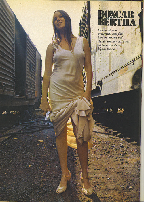 Boxcar Bertha feature in Playboy 8/72 No shout-outs for Scorsese