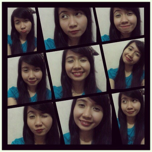 Eto ang hirap pag nightshift eh #bored #wideawake #ridiculous #vain (Taken with Instagram)