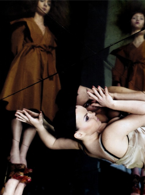 """La Traviata"" by Deborah Turbeville for Pani April 2010"
