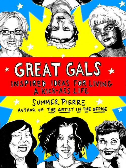 ITEM OF THE DAY: ITEM OF THE DAY: 'GREAT GALS' BY SUMMER PIERREby Kerry Winfrey http://bit.ly/RrOOGn