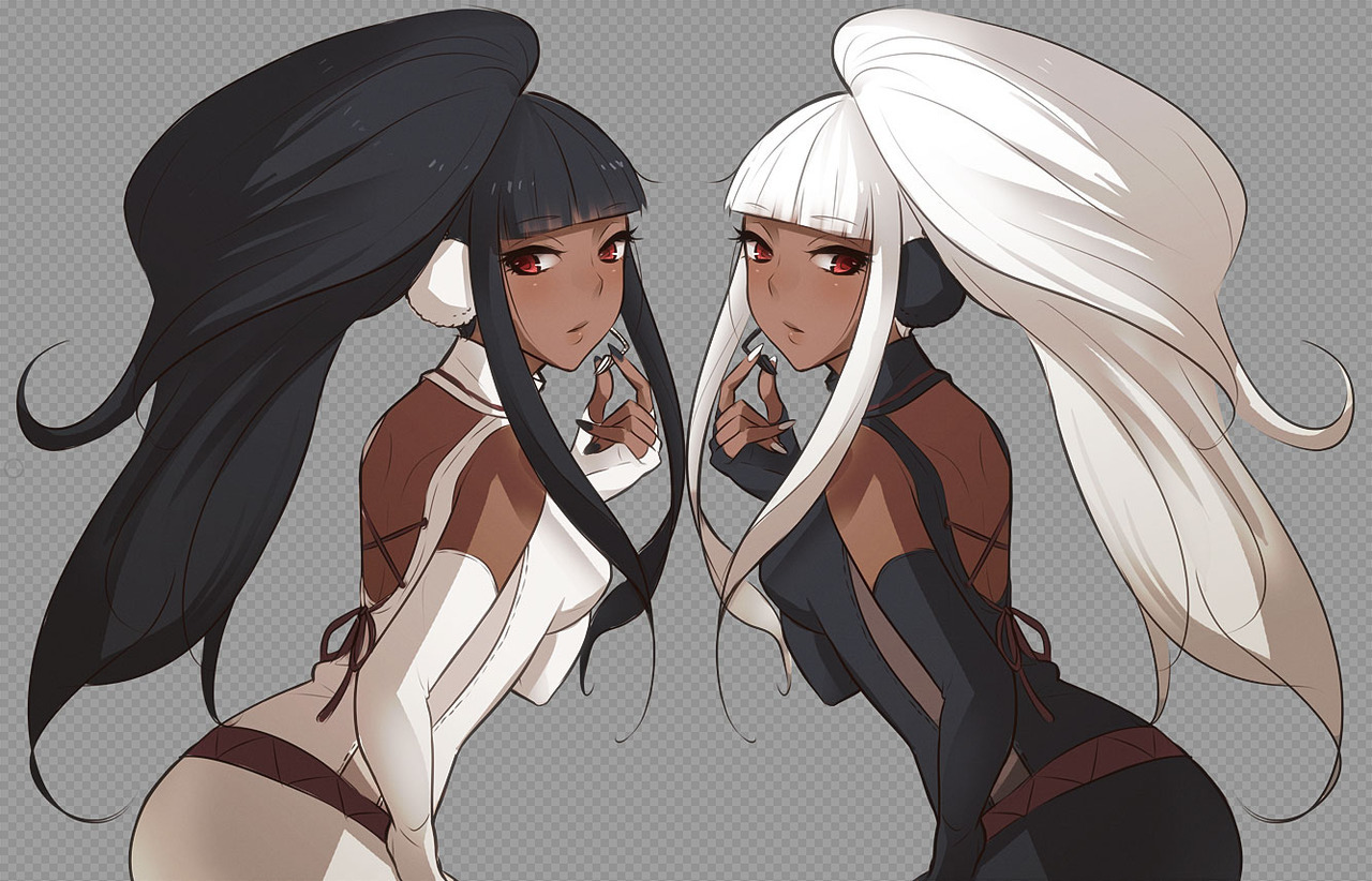 Dark skin anime characters and other goodies - Dark anime couples ...