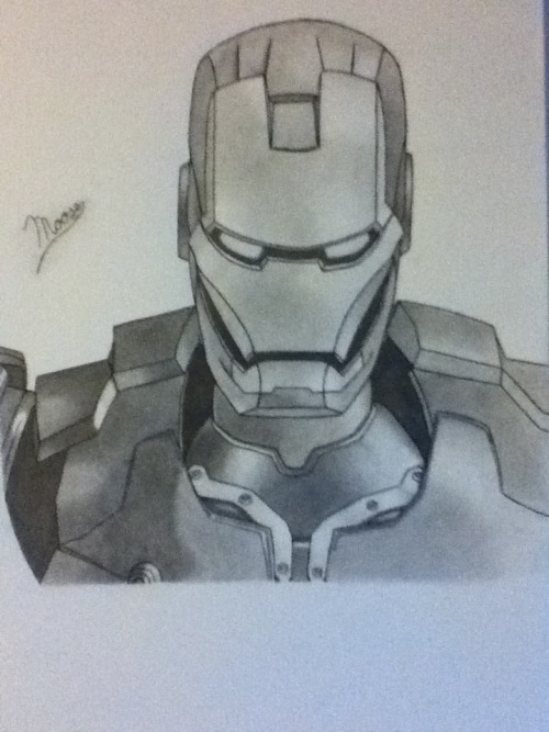 A little something I did because I love Iron Man.
