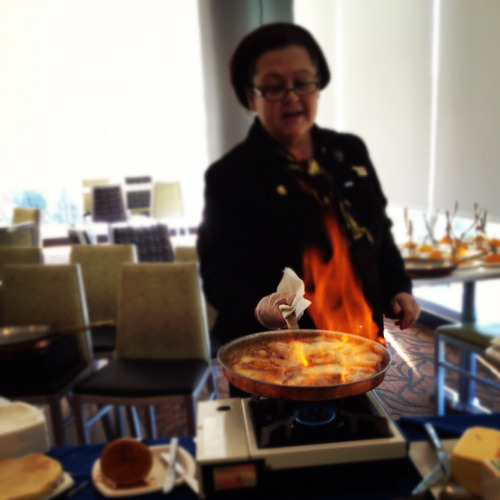 Culinary Demonstration- Crepe Suzette