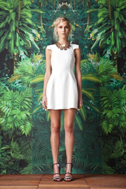 Warpaint dress by Cameo Styling on the warpath in the urban jungle.