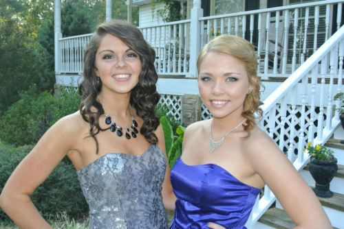 kaitlyn! senior homecoming :)