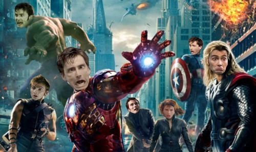 hello-i-have-diabeetus:  The Dave-vengers.  Starring David Tennant as everyone. I am sorry.