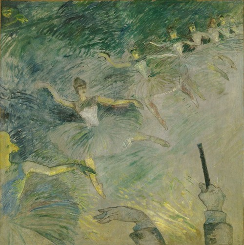 poboh:  Ballet Dancers, 1885-1886, Henri de Toulouse-Lautrec. French Post-Impressionist Painter, Printmaker (1864 - 1901)