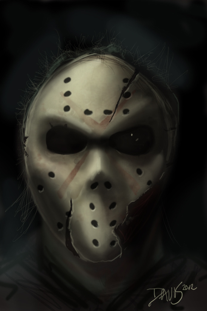 Jason Digital Painting by Joseph R. Davis
