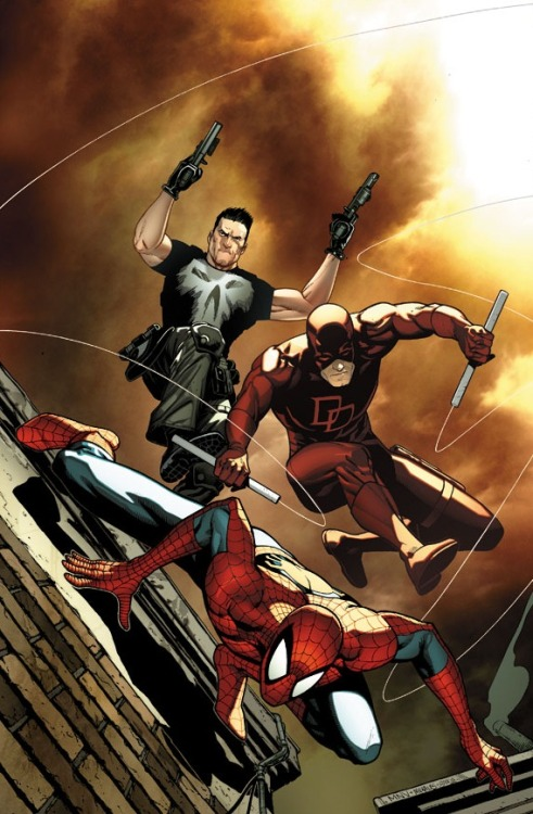 Punisher / Daredevil / Spiderman