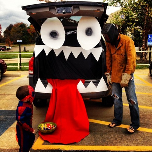 Trunker Treat! 💀😱🎃 (Taken with Instagram)