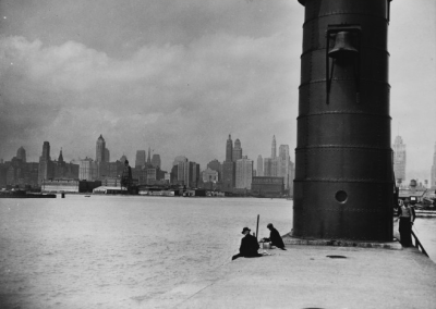calumet412:  Skyline from the lighthouse, 1930, Chicago  Love this.
