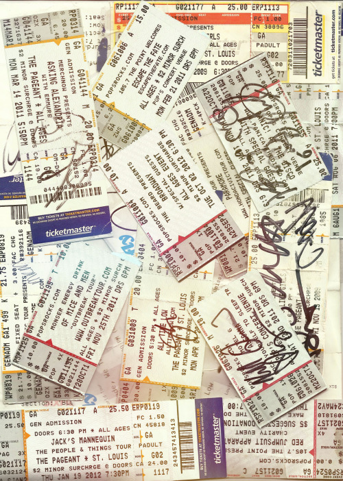 nothingbutsinkingships:  my concert tickets are literally the only thing i care about