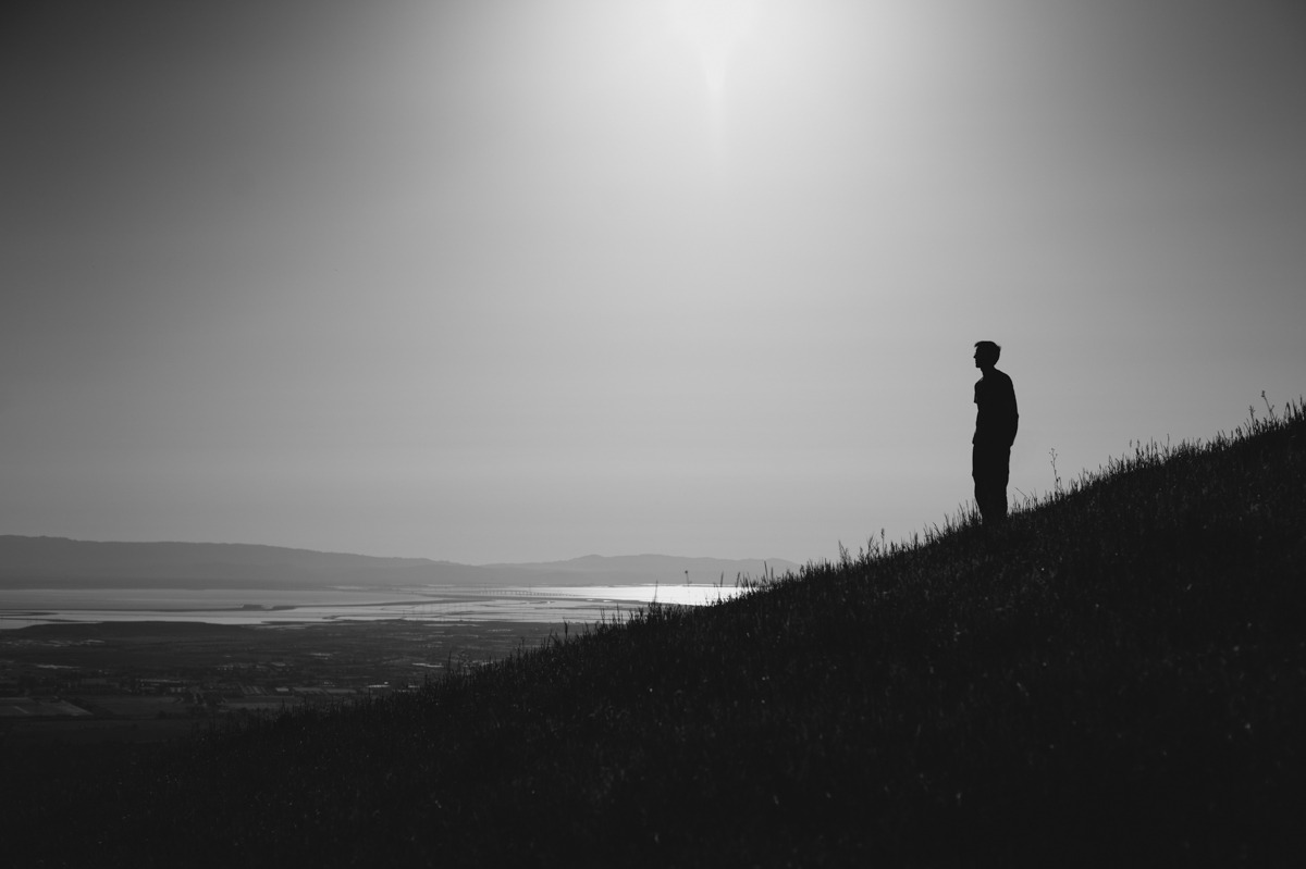 One day, Chris Connolly and I went on a hike, Mission Peak, California, 4.25.10