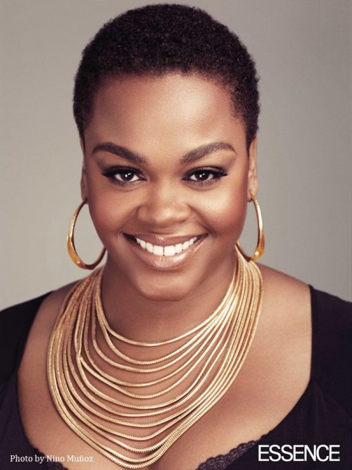 "READ: jill scott speaks on black women & their natural hair. (via hellobeautiful.com) Jill Scott: ""I would love to see a cast of African-American women with their natural hair. Some are going to be coiled, some are going to be curly, some will be tight, some will be wild-braided-twisted but this is the crux of it, this is who we are, and our hair even has a character in itself. I don't mind wearing a weave or a wig–I don't have a problem with it, but when I come home to myself–I'm natural. Hair is fun but I'd like to see who we are. I always think about it like this: if 30 black women were to be lost on a deserted island, those weaves would come out–they would all come out. We'd have to start taking care of our hair, and when the ship shows up two months later, there's going to be a bunch of African-American woman or African women getting on that boat in all their glory."" posted by @knimi."