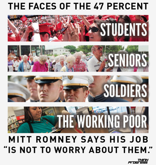 The faces of the 47%