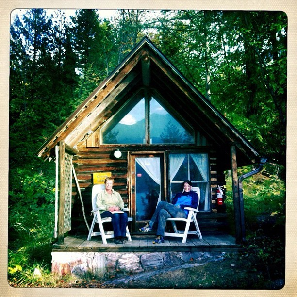 Creek Cabin at Yasodhara Ashram http://instagr.am/p/Qx-yIVC1bJ/