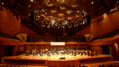 Nezahualcóyotl Concert Hall. Mexico City, 2012.