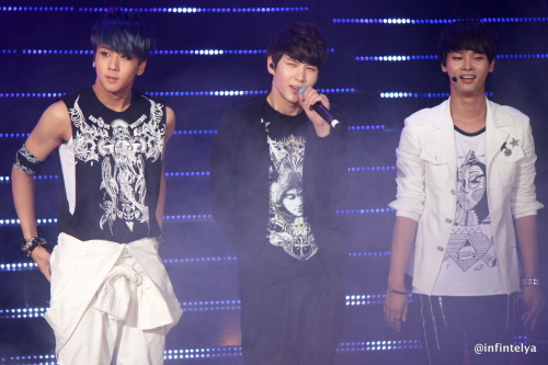 Ravi, Leo & N @ KCON cr: me, edit all you want