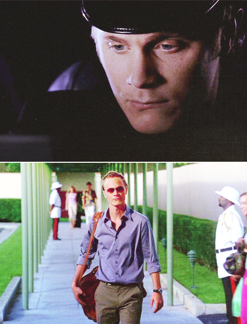 classicyesterday:  I thought David Anders was English for the longest time. I was surprised to find out that he's from Oregon! I'm no expert on English accents but his always sounded pretty solid to me (meaning he didn't sway back and forth from his real accent to the English accent). Now I'm thrown off when I see David Anders in his other projects with his regular speaking voice.  47 Days of Alias | Day 17 - Favorite Accent