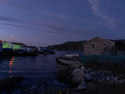 Englee, Newfoundland at night