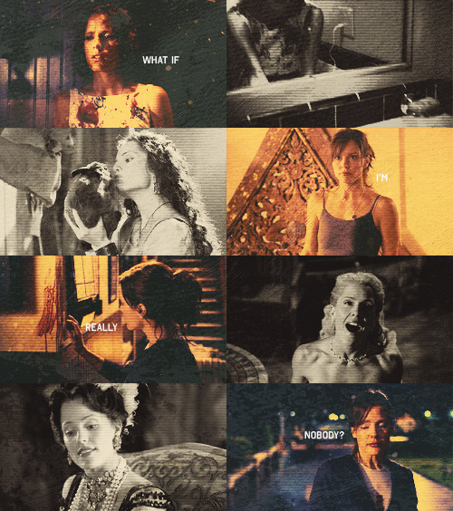 """Selfless"" is by far one of my favorite episodes of Buffy. Anya FTW. (Existentialism and character development FTW, too.)"