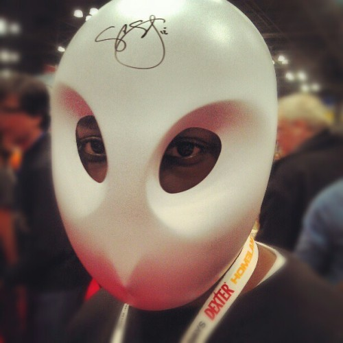 @newyorkcomiccon #batman #macomicny (Taken with Instagram)