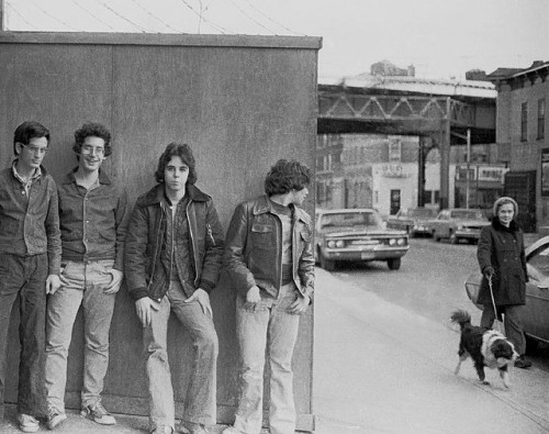 retronewyork:  THE GUYS - 1975 Brooklyn NYC 70s - Like Yesterday Man. by Whiskeygonebad on Flickr.