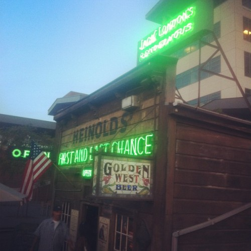 Oldest bar in Oakland (Taken with Instagram at Heinold's First & Last Chance)