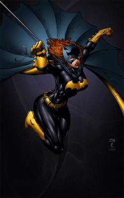 patientcomicaddict:  BATGIRL by David Finch