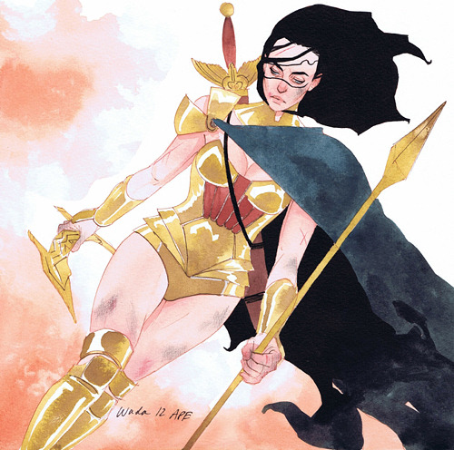 Wonder Woman by Kevin Wada  Ohhhh.