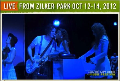 Now showing: Austin City Limits Festival encore of Jack White and his all-girl band.
