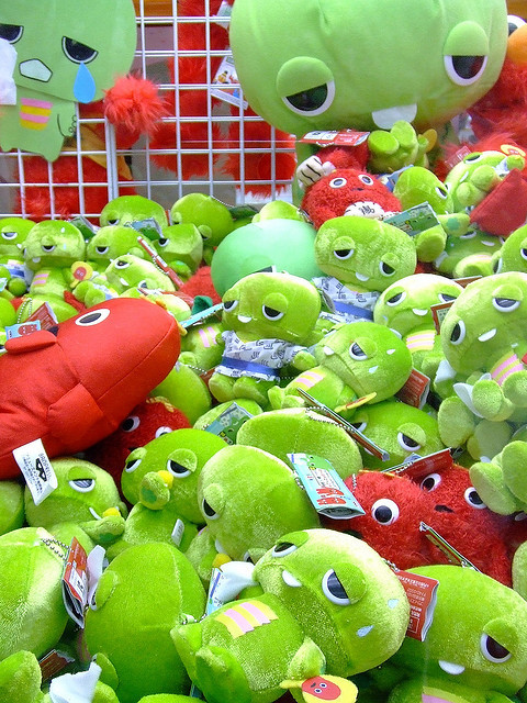 UFO catcher by bananagranola (busy) on Flickr.