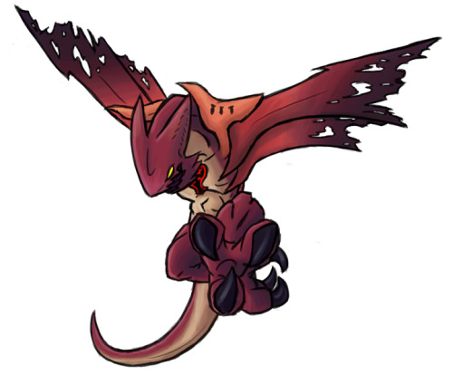 Day 07 - Favorite Heartless Wyvern.  These guys look awesome, and will gouge your eyes out with their talons.  It'd be awesome if you could tame one it would kick heartless ass for you!