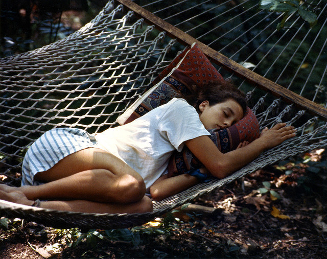 The hammock, this girl. Oh man. I wanna be there.