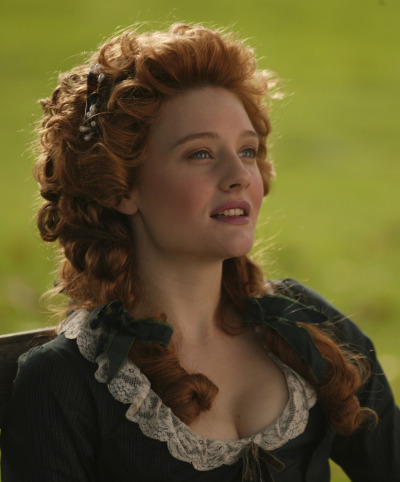 bohemea:  Romola Garai in Amazing Grace  Someday my hair shall be this glorious. :)