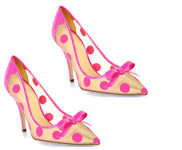 Kate Spade Lisa polka dot pumps: impossible to resist