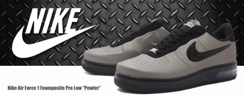 Nike Air Force 1 Foamposite Pro Low 'Pewter' - On Sale Now at Footlocker Online