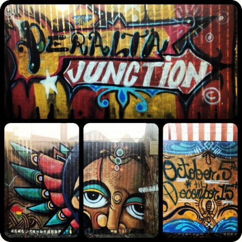 #PeraltaJunctuon #westoakland #oakland #community #art #food #clothing #music #carnival #localart (Taken with Instagram)