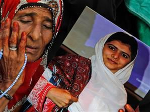 Pakistani girl shot by Taliban en route to UK (Photo: Shakil Adil / AP) The Pakistani schoolgirl shot and critically wounded by the Taliban for promoting education for girls and criticizing the militant group is en route to the UK for further medical treatment, Pakistan military officials told NBC News on Monday. Read the complete story.
