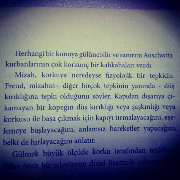 Kurt Vonnegut - Ülkesi Olmayan Adam (Taken with Instagram)